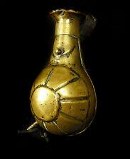 Poire à poudre ou pulvérin Afrique du Nord Maghreb XIX  Powder horn  Pulverhorn