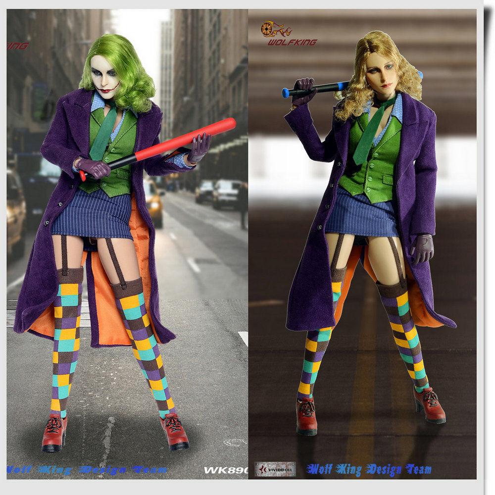 Escala 16 Wolfking la hembra Joker 2.0 WK89013A Deluxe Ver. figura de móvil