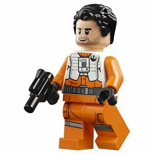 Lego Star Wars Poe Darmeron Minifigures Lot 75242 75189 75249