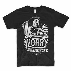 Bob Marley T Shirt One Love Weed JamaÏque Reggae Rasta Rastafariennes Cannabis Lion-afficher Le Titre D'origine