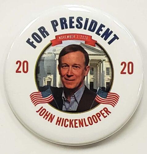 John Hickenlooper 2020 Campaign Button
