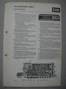 ELAC-3300-T-Receiver-Service-Manual