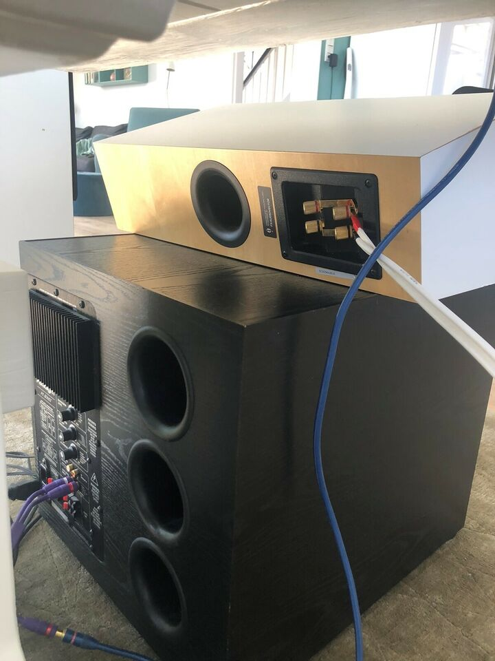Audio Vector M3 + Paradigm sub + Denon AVR 3300 ,