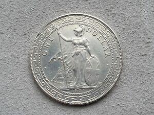 British-Trade-Dollar-1901-Silver-Coin-Hong-Kong-Straits-Settlements