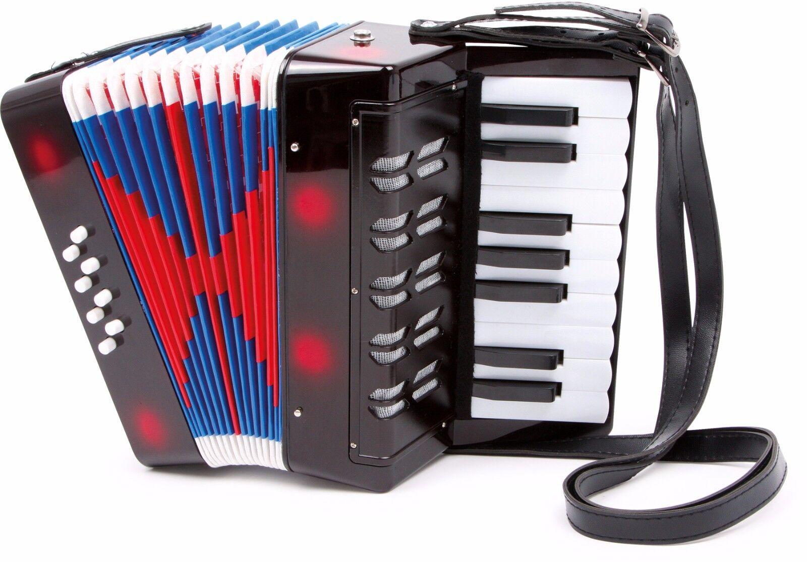 Akkordeon Classic für Kinder Kinder Kinder Musik Instrument Zieharmonika Musikinstrument Neu 815b99