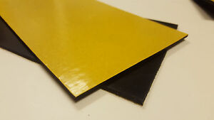 Solid-Neoprene-Adhesive-Backed-Rubber-Gasket-Sheet-Various-sizes-amp-Thicknesses