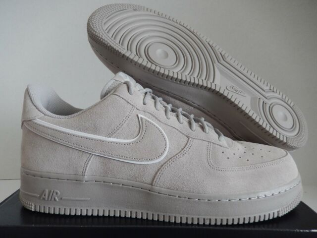 reputable site bb863 dcd4b Nike Air Force 1  07 Lv8 Suede Low Men s Moon Particle Casual SNEAKERS 14