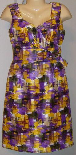 Alex Marie Dress NWT Style Lark Purple Mustard Bora Bora Sizes 4 6 8 10 12 14