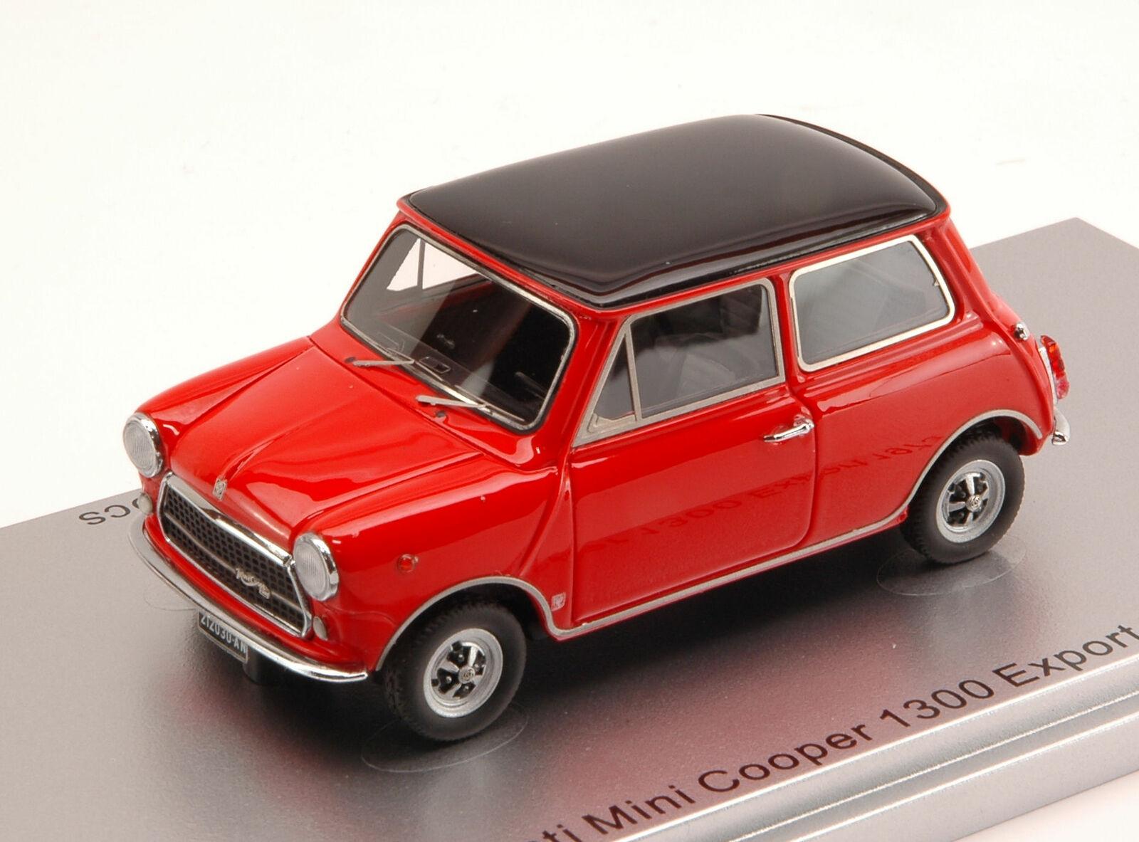 Innocenti Mini Cooper 1300 Export 1973 rot 1 43 Kess Model KS43012030 Miniature