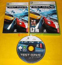 TEST DRIVE UNLIMITED 1 XBOX 360 Versione Ufficiale Italiana 1ª Edizione ○○ USATO