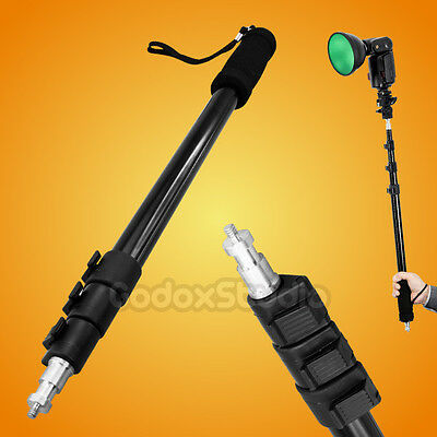"Godox AD-S13 Light Boom Pole Stick 1/4"" Male Thread for WITSTRO AD-180 AD-360"