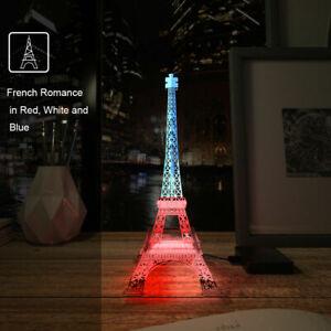 Eiffelturm LED Licht Nachtlicht Lampe SK6812 RGB 5V Lichtleiste 13Key Controller