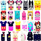 3D Cartoon Soft Silicone Back Case For Alcatel One Touch POP C7/5/9/1 idol 4037