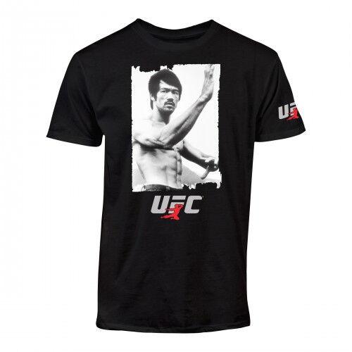 UFC Bruce Lee Immortality T-Shirt MMA Macao Dragon Fight Tee S-3XL