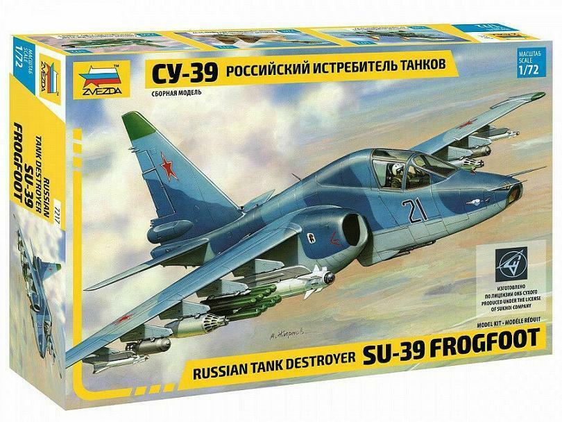 """1:72 ART Model #7217 Su-39 Sukhoi /""""Frogfoot/""""  Neuheit!"""
