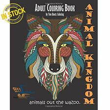 Techniques Adult Coloring Books Animal Kingdom Out The Wazoo Wolves Forest Arts