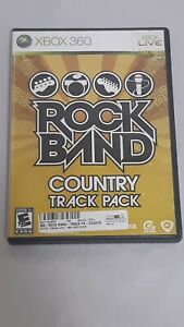Rock-Band-Country-Track-Pack-Xbox-360-2009-Complete-Game-Disc-Case-amp-Manual