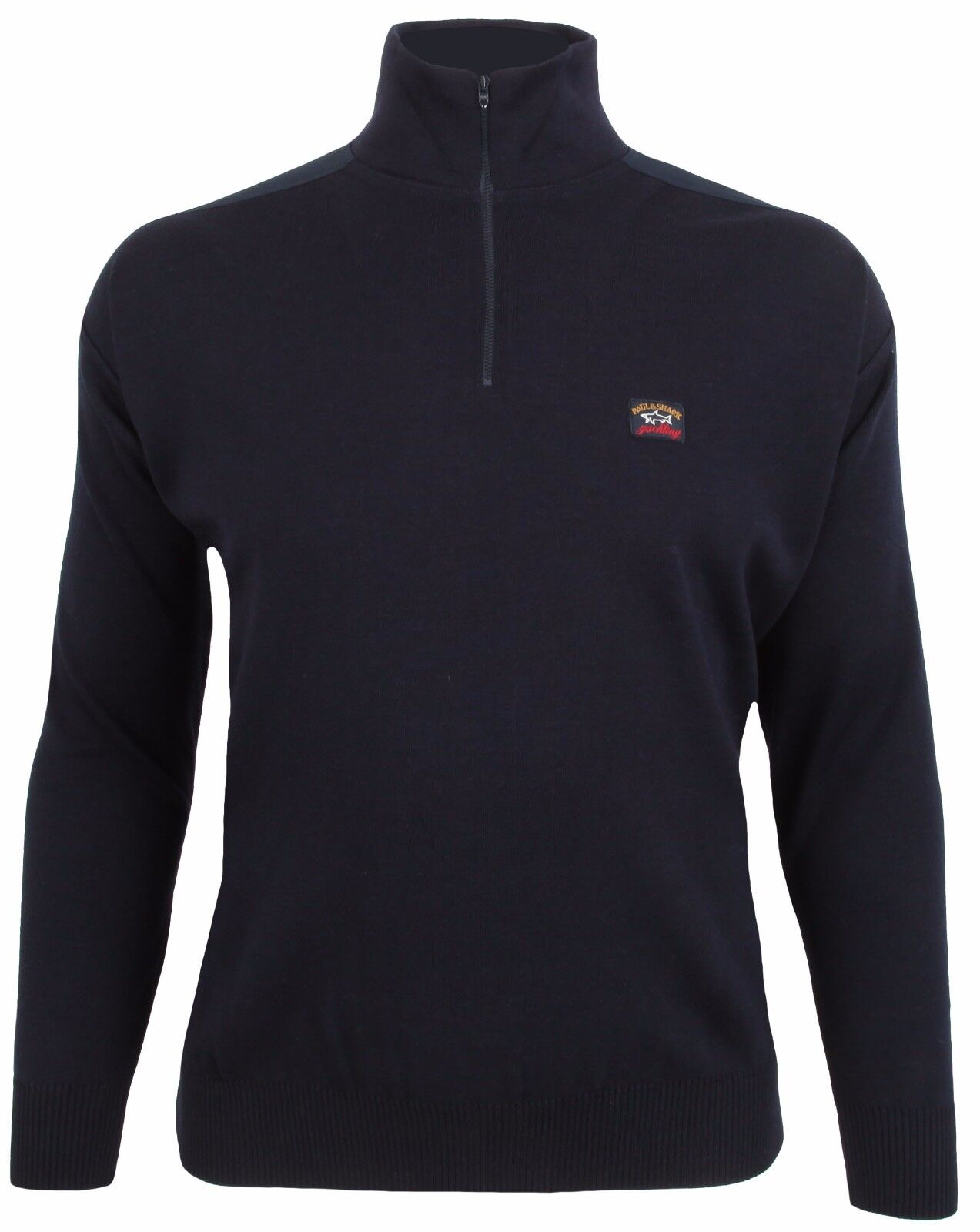 PAUL & SHARK YACHTING Pullover Sweater Troyer Größe 3XL Navy YACHTING COLLECTION