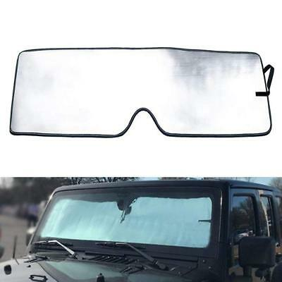 SOYAVISION Front Windshield Sunshade Sun Shade Heat Shield Sun Visor Mat for 2018 2019 Jeep Wrangler JL 2 Door /& 4 Door Interior Accessories