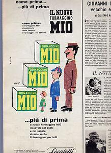 RAYMOND-SAVIGNAC-FORMAGGINO-MIO-PUBBLICITA-039-ADVERTISING-CM-33-5-X-15-5-DEL-1959