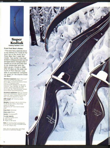 """Le meilleur 3-ply B-55 flamand String Pour Ours Super Kodiak ou SUPER MAGNUM/"""" 48/"""""""