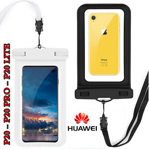 Dettagli su Custodia Impermeabile Smartphone 5METRI PROFONDITA' per HUAWEI P20 / LITE / PRO