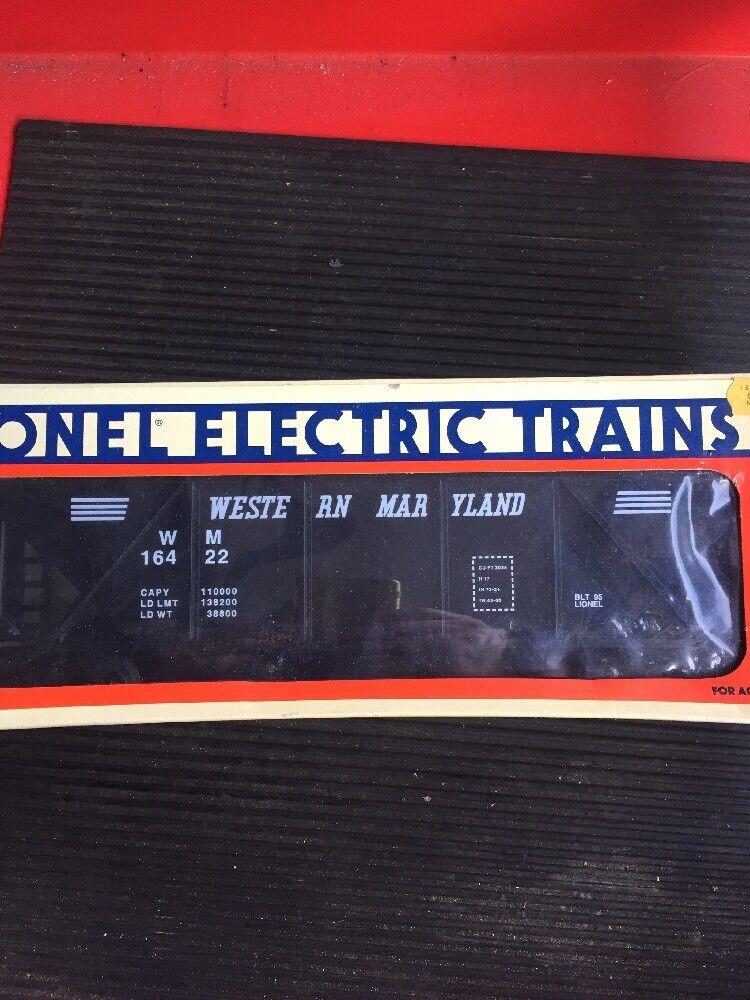 Lionel Western Maryland Coal Hopper