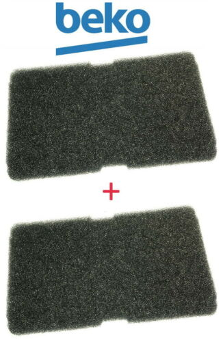 Kit da 2 Filtri in Spugna per Asciugatrice BEKO Ricambi Aria ASH DHT 73LIT 83LIT