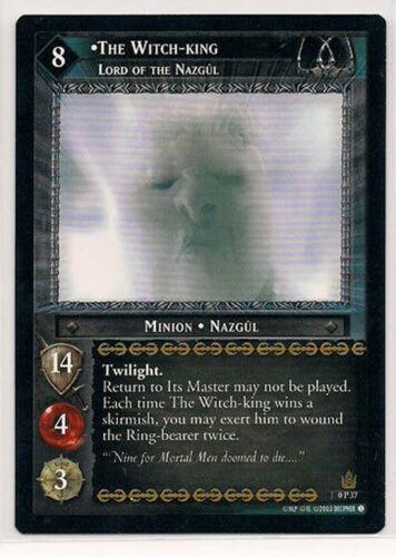 LOTR Lord of the Rings TCG Promo The Witch-King 0P37 NM