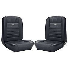 1964 1965 1966 64 65 66 Mustang Coupe Black Premium Upholstery Pony Interior TMI