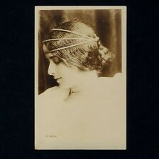 Jugendstil NUDE DANCER CLEO DE MERODE Art Nouveau * Vintage 1900s Photo PC