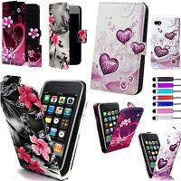 Schutz Hülle Case PU Ledertasche Brieftasche für verschiedenen Handys & griffel