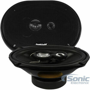 PLANET-AUDIO-TRQ693-TORQUE-6-034-x-9-034-3-Way-500-Watt-Full-Range-Car-Speaker-PAIR