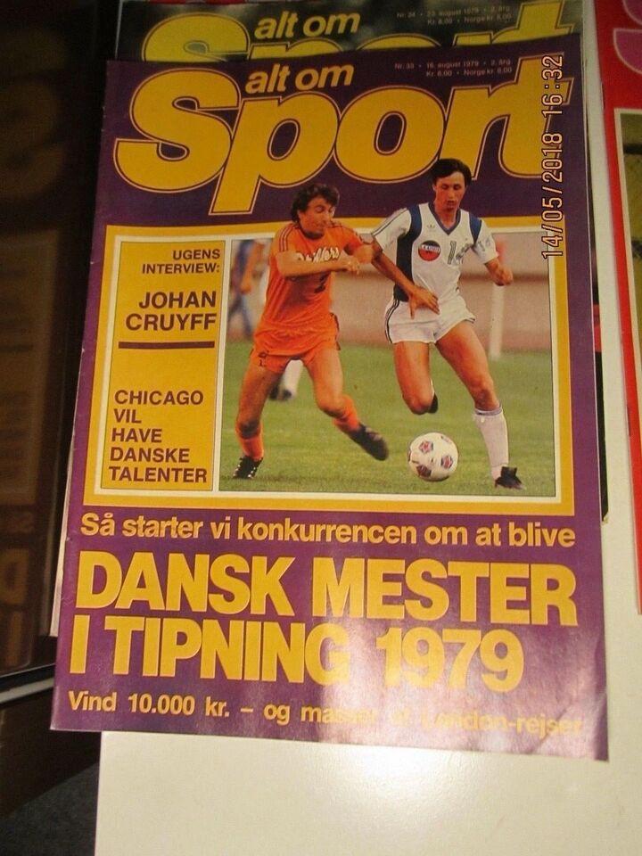 Bøger og blade, Alt om Sport