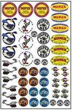 1/64, 1/87 - DECALS FOR HOT WHEELS, MATCHBOX, SLOT CAR: VINTAGE MOPAR LOGOS