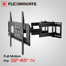 "Articulating Swivel LCD LED Full Motion TV Wall Mount 32"" 40 42 46"" 55"" 60"" 65"""
