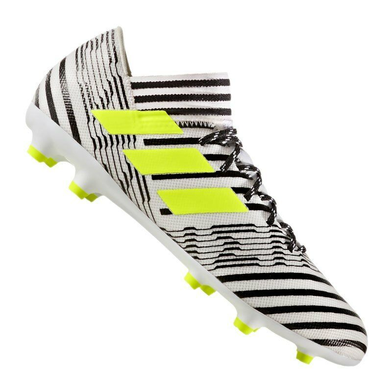 Adidas NEMEZIZ 17.3 FG Fußballschuhe in der Farbe Weiß Schwarz