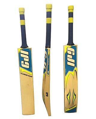 CJI Illusion Wand Genuine English Willow Junior Cricket Bat