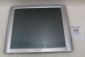 NEW-LA-CROSSE-TECHNOLOGY-BBB87269-Large-20-Inch-Atomic-Digital-Desk-Wall-Clock