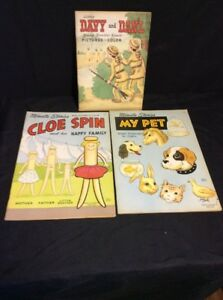 Details about 3 VINTAGE 1955 BOOKS