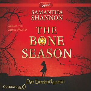 LAURA-MAIRE-S-SHANNON-THE-BONE-SEASON-DENKERFURSTEN-MP3-3-CD-ROM-NEW