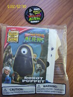 Lowes Build And Grow Monsters Vs Aliens Robot Puppet Wood Model And Patch