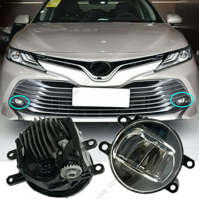2pcs Bright Led Fog Light For Toyota Camry Lc200  Lc150