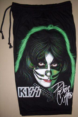 Kiss Band Peter Criss 1978 Solo Album Retro Cotton Shorts Sweatpants Free Size