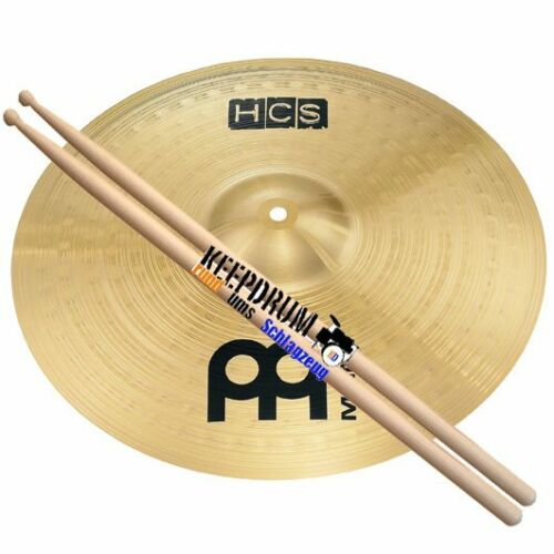 Keepdrum Drumsticks Meinl HCS 16 Crash Becken