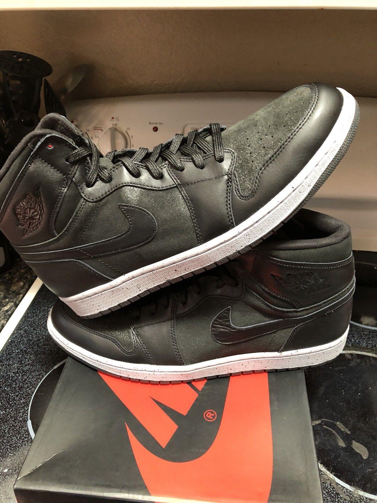 Nike Air Jordan 1 Retro High OG NYC (715060-002) PSNY Black SZ 15 (715060-002) NYC Xi Xii Max 97 5082e1