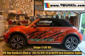 Lift Kit for VW New Beetle A5 2011-2019 Baja Dune Stage 3 Koni Sport Suspension