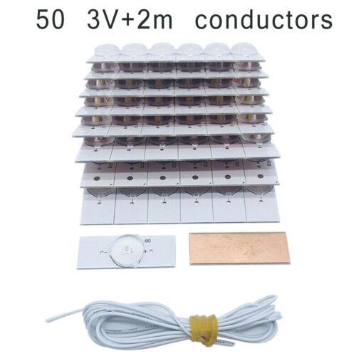 Universal SMD Lampe Perlen /& Optisch Linse Filter Für 32-65 Zoll LED TV Repair