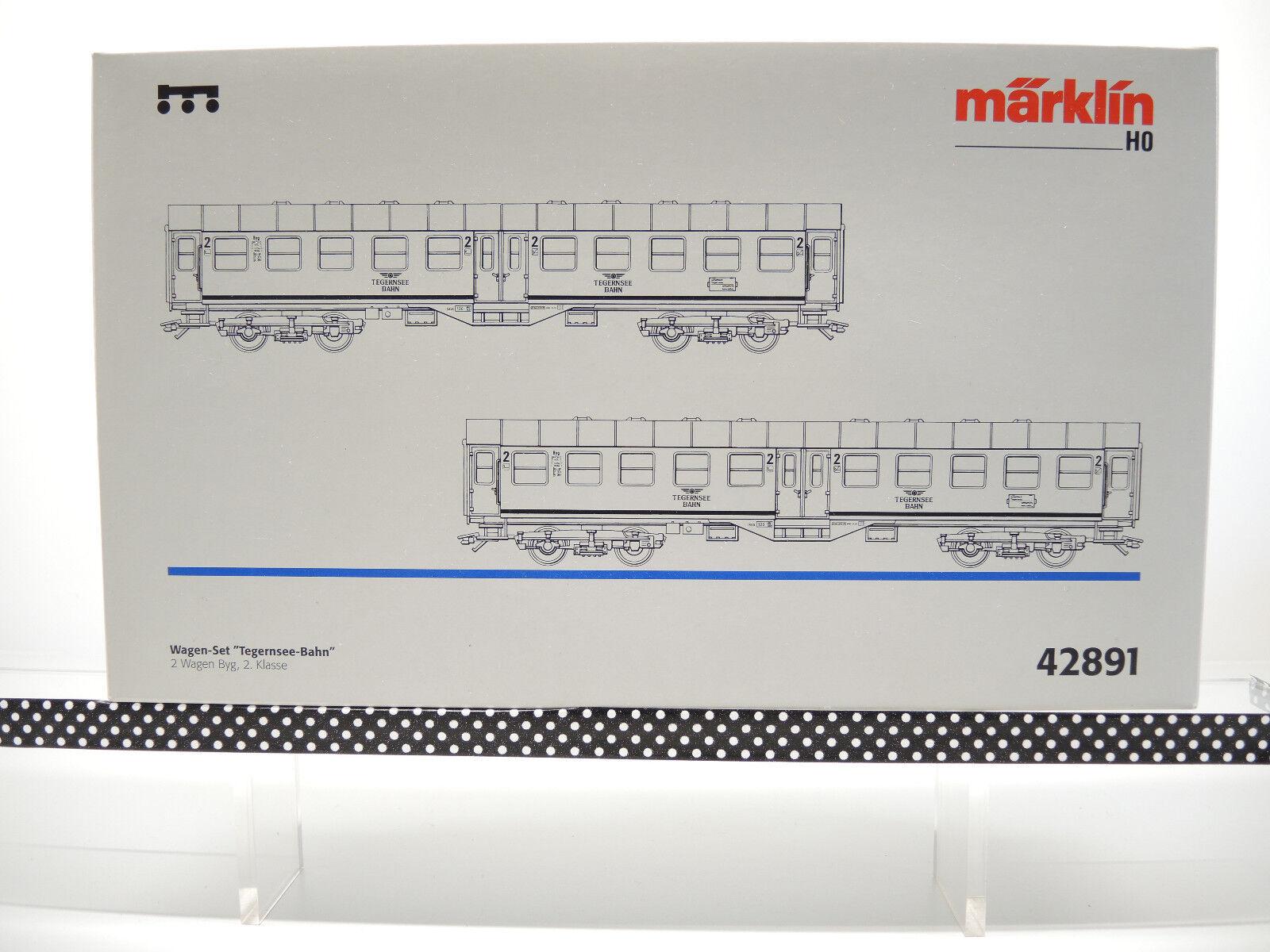 42891 carri-Set  Tegernsee-Bahn  KKK, molto bene OVP