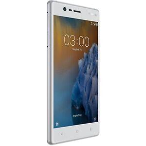 "NOKIA 3 [16GB, 2GB] 4G 5"" Silver TA-1020SS unlocked Smartphone AU STK"